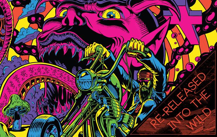 Wayfaring Strangers: Acid Nightmares – Raven Sings The Blues